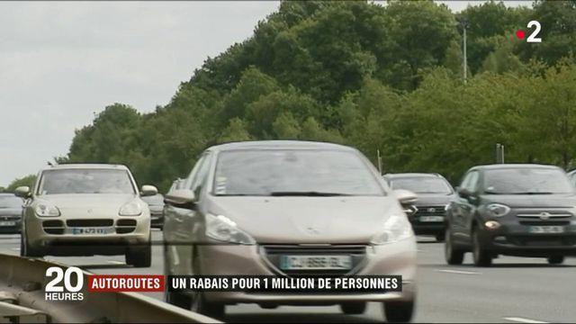 Autoroutes : un rabais pour 1 million de personnes