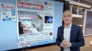 Le 13 Heures de France 2 fait, mercredi 2 décembre, le tour de la presse régionale. (FRANCE 2)