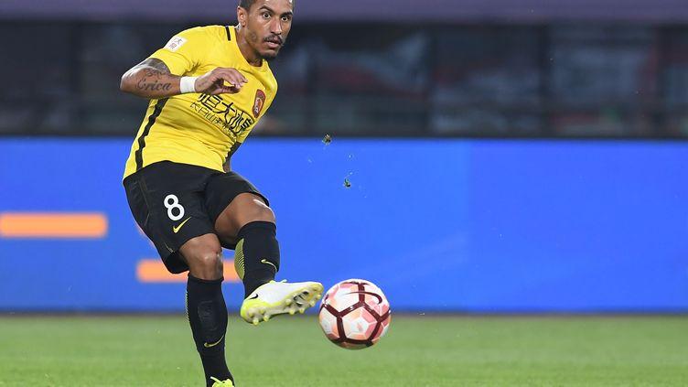 Paulinho sous les couleurs de Guangzhou Evergrande (ZHOU WEI / IMAGINECHINA)