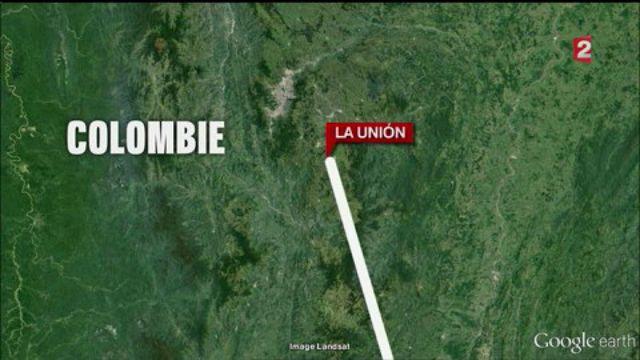 Colombie : un avion s'écrase avec 81 personnes à bord