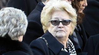 Elyette Boudou aux obsèques de Johnny  (PHOTOPQR/L'EST REPUBLICAIN/MAXPPP)