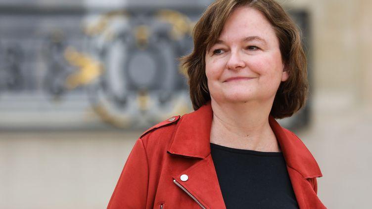La ministre chargée des Affaires européennes, Nathalie Loiseau, après le Conseil des ministres à l'Elysée, le 20 mars 2019, à Paris. (LUDOVIC MARIN / AFP)