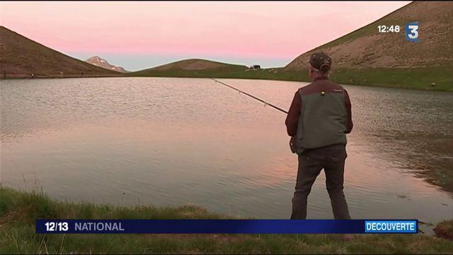 Hautes-Alpes : à la découverte de la pêche dans le lac des Sirènes