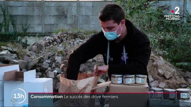 Consommation : le succès des drive fermiers