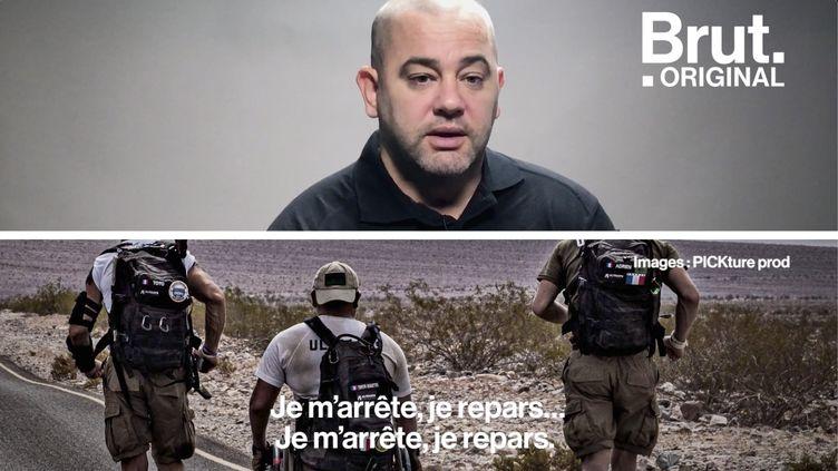 """VIDEO. """"On en sort encore plus grand"""" : Paraplégique, il parcourt la Vallée de la mort en 14 jours (BRUT)"""