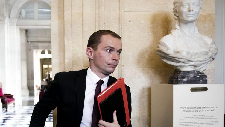 Olivier Dussopt a rencontré le secrétaire général de l'Elysée mardi 21 novembre. (MAXPPP)