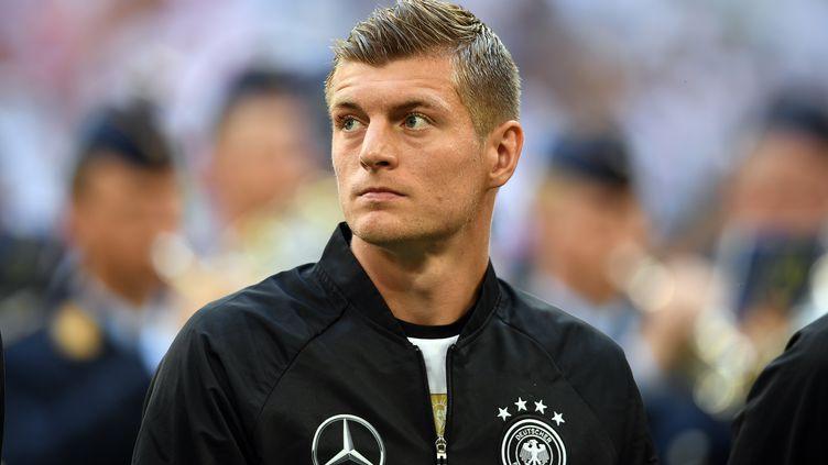 Toni Kroos, le milieu de terrain de l'Allemagne (FEDERICO GAMBARINI / DPA)