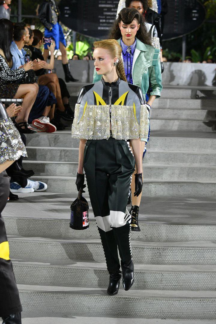 A l'occasion de son défilé croisière, Louis Vuitton a présenté une nouvelle série de sacs. (DIA DIPASUPIL / GETTY IMAGES NORTH AMERICA)