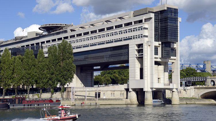 Le ministère de l'Economie et des Finances, dans le quartier de Bercy, à Paris, le 9 août 2013. (BERTRAND GUAY / AFP)