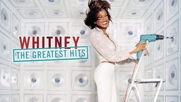 """La couverture de l'album """"Whitney : The Greatest Hits"""", sorti en 2000. (DR)"""