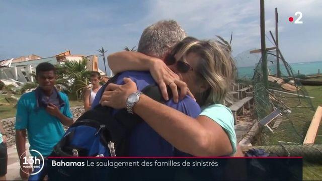 Bahamas : après le passage de Dorian, des familles se retrouvent