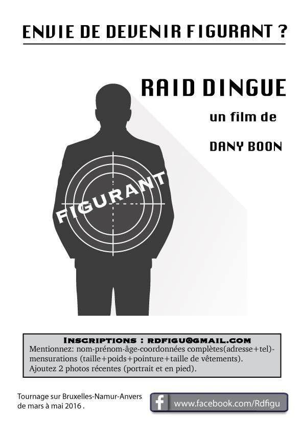Le réalisateur Dany Boon recherche des figurants pour Raid Dingue  (DR)
