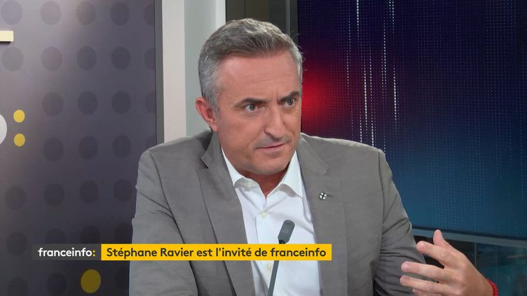 Stéphane Ravier, sénateur RN des Bouches-du-Rhône. (FRANCEINFO / RADIOFRANCE)