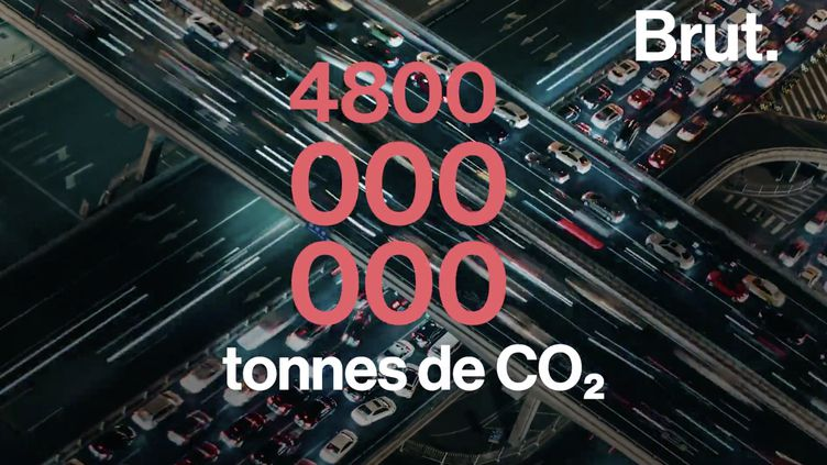 VIDEO. Les voitures vendues en 2018 vont polluer autant au cours de leur vie que tous les habitants de l'UE en 1 an (BRUT)