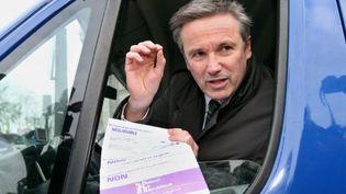 Nicolas Dupont-Aignan (15 décembre 2010) (AFP/PIERRE VERDY)