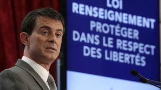 Le Premier ministre, Manuel Valls, le 19 mars 2015, à Paris. ( PHILIPPE WOJAZER / REUTERS)