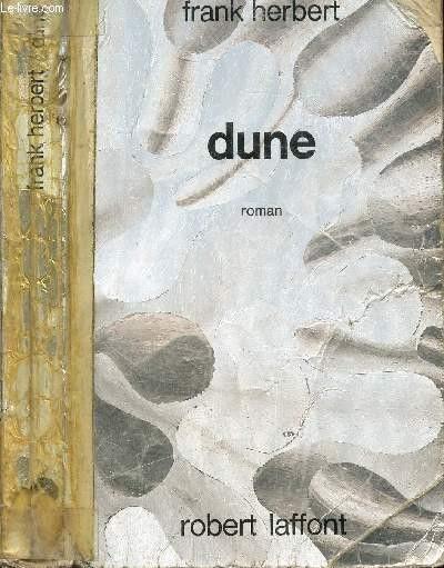 """Première de couverture de """"Dune"""" de Frank Herbert (détail).1970 (ROBERT LAFFONT)"""
