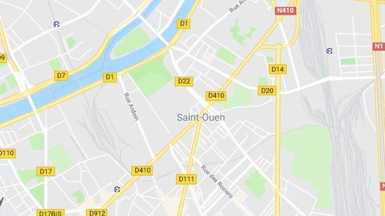 Une marche silencieuse a eu lieu, le 27 mars à Saint-Ouen (Seine-Saint-Denis), en mémoire d'une jeune femme tuée par son compagnon. (GOOGLE MAPS)
