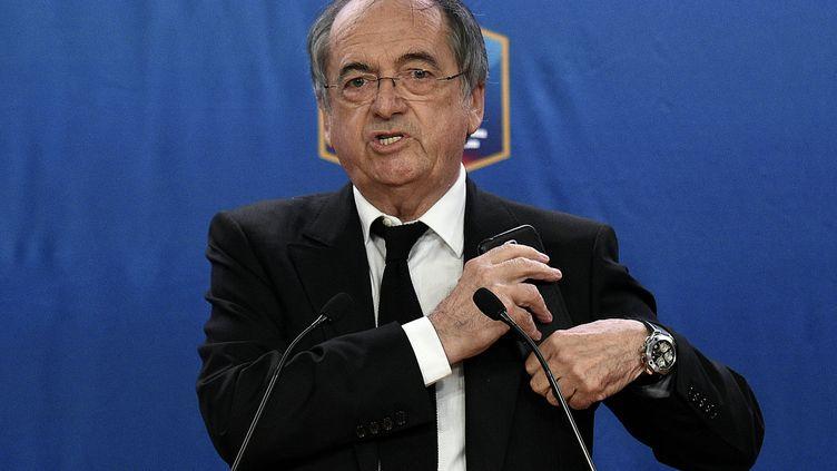 Le président de la FFF Noël Le Graët