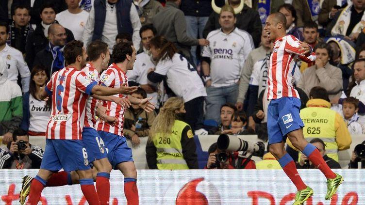 Miranda a offert d'un coup de boule la Copa del Rey aux Colchoneros (DANI POZO / AFP)