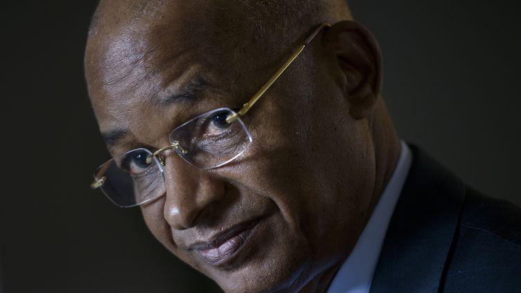 Cellou Dalein Diallo, chef de file de l'opposition guinéenne. Il sera le principal adversaire du président Alpha Condé à la présidentielle du 18 octobre 2020. (BRENDAN SMIALOWSKI / AFP)