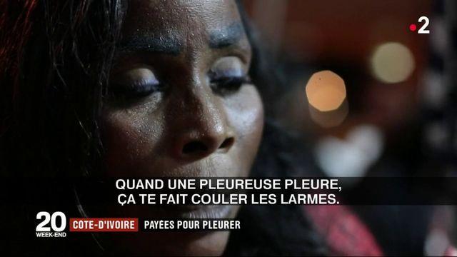 Côte-d'Ivoire : payées pour pleurer