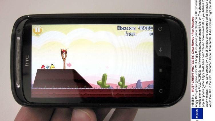 Le jeu pour plateformes mobiles Angry Birds a été téléchargé plus d'un milliard de fois. (DEAN MURRAY / REX / SIPA)