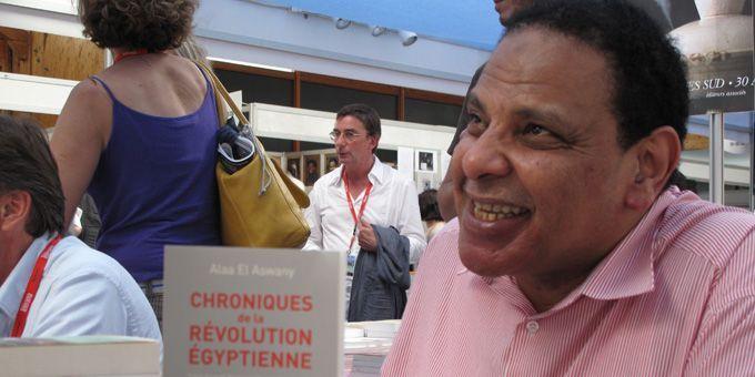 """L'égyptien Alaa El Aswany """"Chroniques de la révolution égyptienne"""", Acte Sud  (S.Jouve)"""