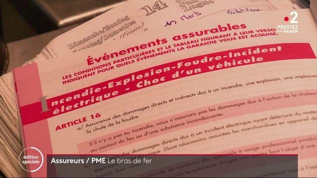 Confinement : bras de fer entre les assureurs et les PME