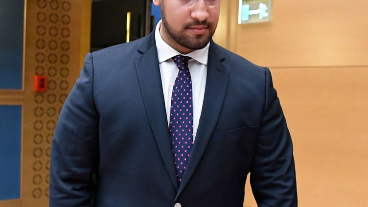 Alexandre Benalla, le 19 septembre 2018, à Paris. (BERTRAND GUAY / AFP)