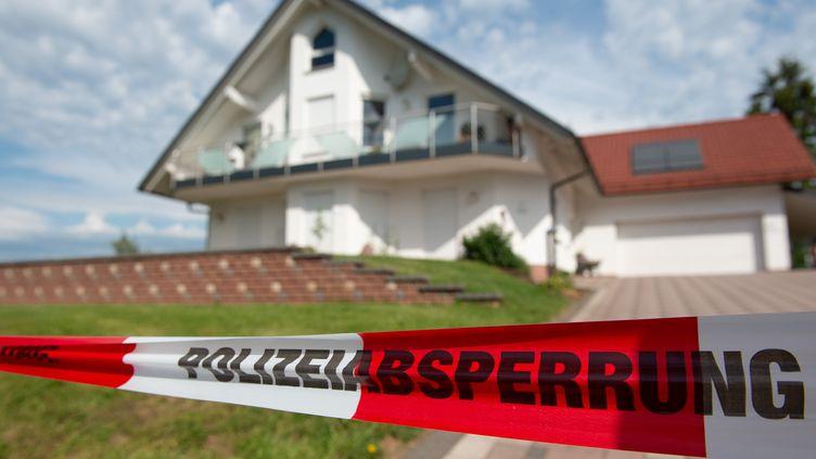 La maison deWalter Lübcke, près de Kassel, en Allemagne, le 3 juin 2019. (SWEN PFORTNER / DPA / AFP)
