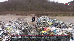 Des centaines de tonnes de déchets belges déversés à la frontière française (FRANCE 2)
