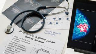 Une consultation pour dépister le cancer du sein. (AFP)