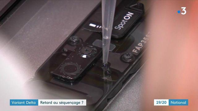 Variant Delta : le séquençage, sous-exploité, gagne du terrain en France