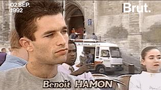 Engagé en politique depuis la fin des années 1980, Benoît Hamon a été, entre autres, président du MJS, candidat aux législatives, conseiller de Martine Aubry, ministre. (Brut)