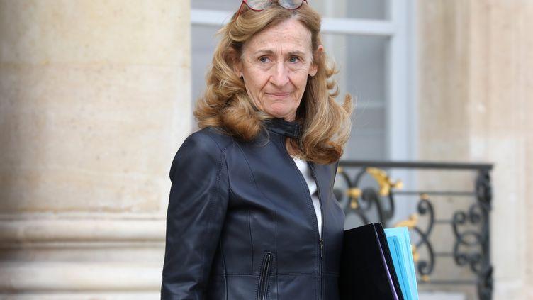 La ministre de la Justice, à 27 mars 2017, à Paris. (LUDOVIC MARIN / AFP)