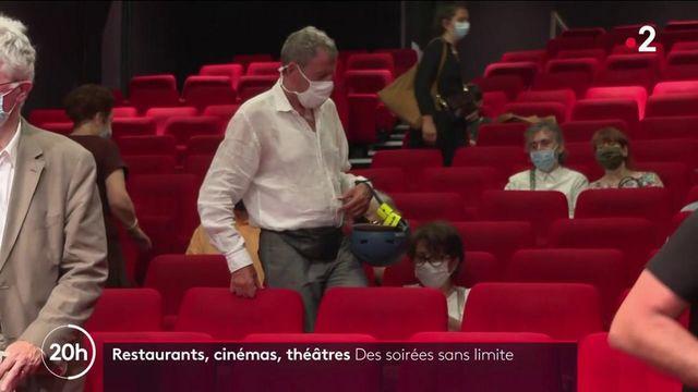 Covid-19 : la levée du couvre-feu, un soulagement pour les restaurants, cinémas et salles de spectacle