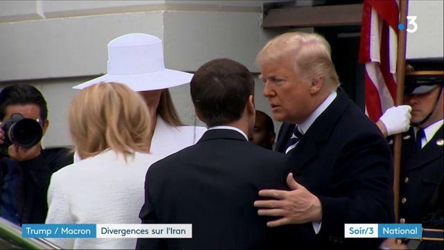 Trump/Macron : leurs divergences sur l'Iran