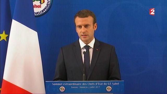 Terrorisme : le message d'Emmanuel Macron