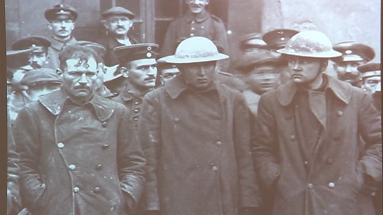 Les 7 millions de prisonniers de la Grande Guerre au cœur d'une exposition au Mémorial de Verdun (CAPTURE D'ÉCRAN FRANCE 3)