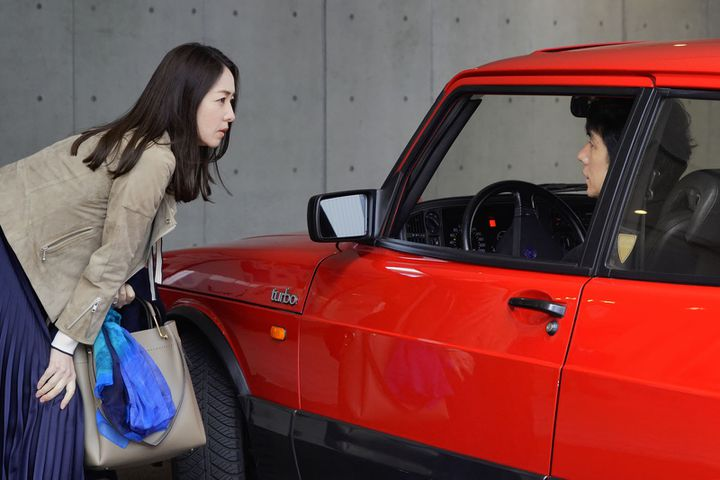 "Toko Miura et Hidetoshi Nishijima dans ""Drive my Car"" deRyusuke Hamaguchi (2021). (THE MATCH FACTORY)"