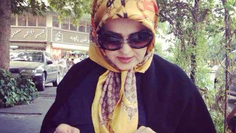 """Zahra Eshraghi, petite-fille de l'ayatollah Khomeini, a affirmé dans une interview vouloir """"lancer une révolution des couleurs"""". ( FRANCE 2 / FRANCETV INFO)"""