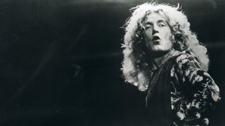 Robert Plant, Led Zeppelin 1976  (REX FEATURES/SIPA)