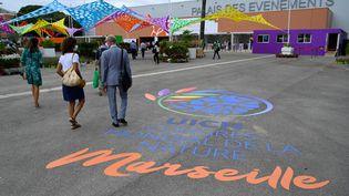 Le congrès mondial de la nature (UICN) ouvre ses portes à Marseille ce vendredi 3 août. (NICOLAS TUCAT / AFP)