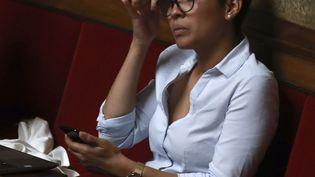 La députée LREM Aira Kuric lors d'une séance de questions au gouvernement à l'Assemblée nationale, le 2 août 2017. (JACQUES DEMARTHON / AFP)