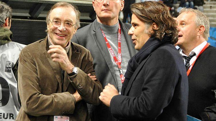 Michel Seydoux, le président du LOSC et Vincent Labrune, le président de l'OM