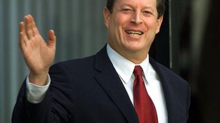 Le candidat démocrate Al Gore à Washington, le 12 décembre 2000. (LUKE FRAZZA / AFP)