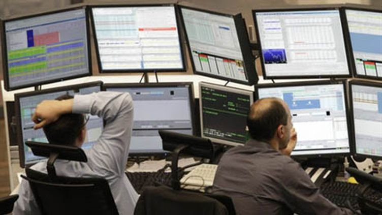 La Bourse de Francfort (AFP PHOTO DDP/MARTIN OESER)