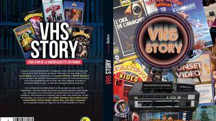 """1re et 4e de couverture de """"VHS Story"""" de Lucas Balbo (juillet 2021). (EDITIONS LUCAS BALBO)"""