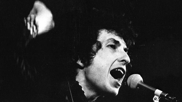 Bob Dylan à Stockholm en 1966  (Scanpix Suède / SIPA)